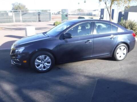 2016 Chevrolet Cruze Limited for sale at J & E Auto Sales in Phoenix AZ