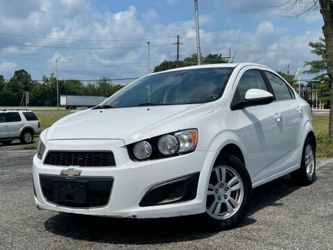 2013 Chevrolet Sonic for sale at MAGIC AUTO SALES in Little Ferry NJ