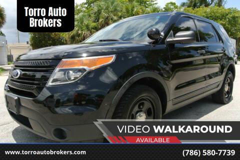 2014 Ford Explorer for sale at Torro Auto Brokers in Miami FL