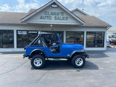 1977 Jeep Wrangler for sale at Clarks Auto Sales in Middletown OH