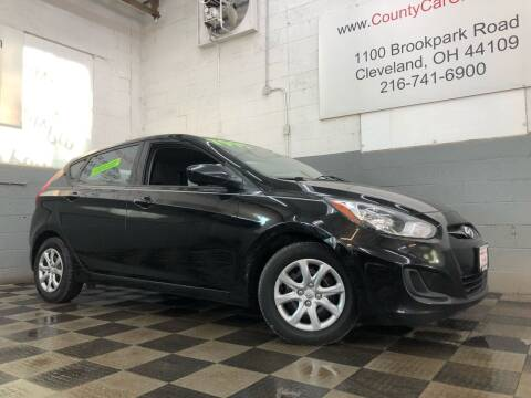 2013 Hyundai Accent for sale at County Car Credit in Cleveland OH