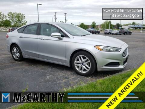 2016 Ford Fusion for sale at Mr. KC Cars - McCarthy Hyundai in Blue Springs MO