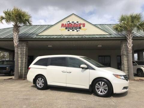 2016 Honda Odyssey for sale at Rabeaux's Auto Sales in Lafayette LA