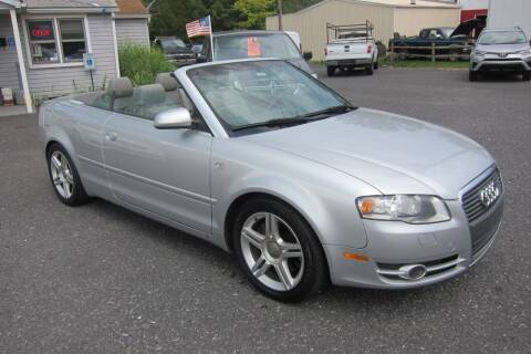 2007 Audi A4 for sale at K & R Auto Sales,Inc in Quakertown PA
