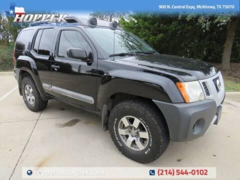 2011 Nissan Xterra for sale at HOPPER MOTORPLEX in Mckinney TX