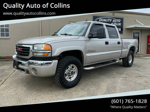2004 GMC Sierra 2500HD for sale at Quality Auto of Collins in Collins MS