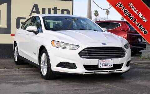2014 Ford Fusion Hybrid for sale at H1 Auto Group in Sacramento CA