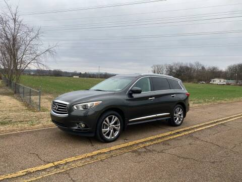 2013 Infiniti JX35 for sale at Tennessee Valley Wholesale Autos LLC in Huntsville AL
