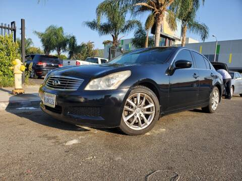 2009 Infiniti G37 Sedan for sale at GENERATION 1 MOTORSPORTS #1 in Los Angeles CA