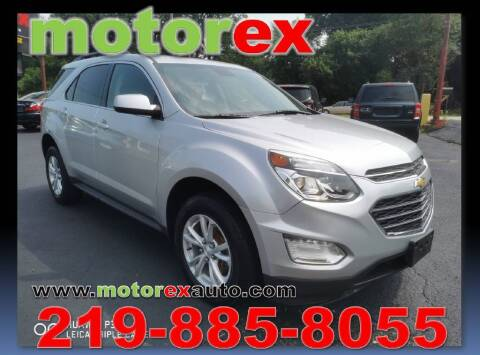 2016 Chevrolet Equinox for sale at Motorex Auto Sales in Schererville IN