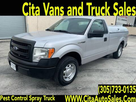 2014 Ford F150 PEST CONTROL  SPRAY TRUCK for sale at Cita Auto Sales in Medley FL