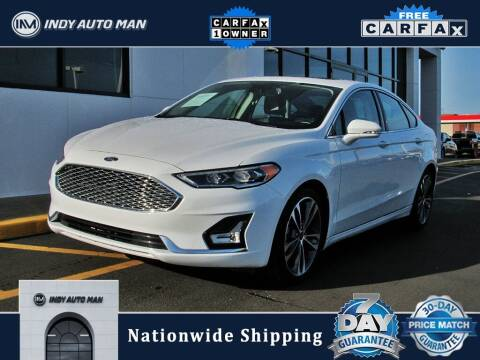 2020 Ford Fusion for sale at INDY AUTO MAN in Indianapolis IN