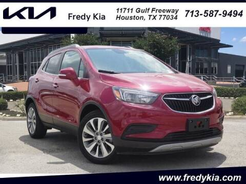2019 Buick Encore for sale at FREDY KIA USED CARS in Houston TX