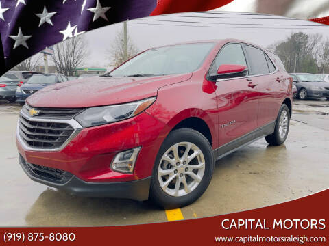 2018 Chevrolet Equinox for sale at Capital Motors in Raleigh NC
