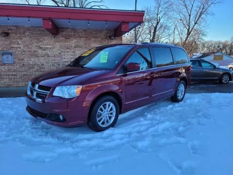 2019 Dodge Grand Caravan for sale at Murdock Used Cars in Niles MI