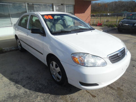 2008 Toyota Corolla for sale at VEST AUTO SALES in Kansas City MO