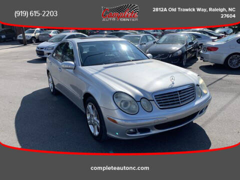 2006 Mercedes-Benz E-Class for sale at Complete Auto Center , Inc in Raleigh NC