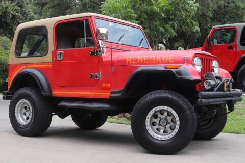 1984 Jeep CJ-7 for sale at SELECT JEEPS INC in League City TX