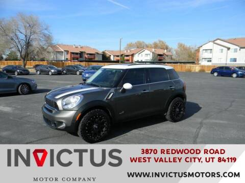 2011 MINI Cooper Countryman for sale at INVICTUS MOTOR COMPANY in West Valley City UT