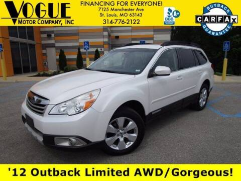 2012 Subaru Outback for sale at Vogue Motor Company Inc in Saint Louis MO
