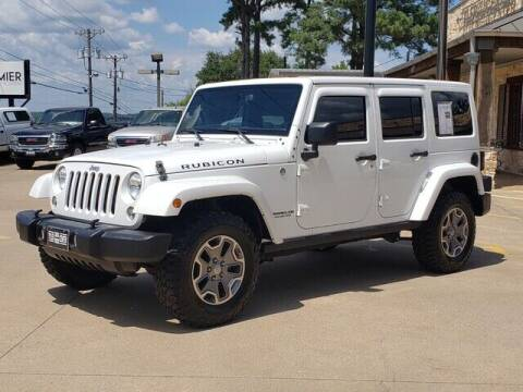 2015 Jeep Wrangler Unlimited for sale at Tyler Car  & Truck Center in Tyler TX