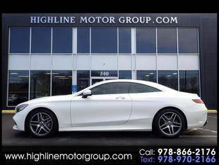 2018 Mercedes-Benz S-Class for sale at Highline Group Motorsports in Lowell MA