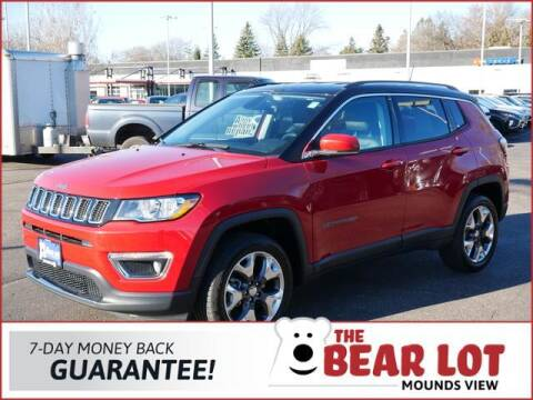 2018 Jeep Compass for sale at Rydell Auto Outlet in Mounds View MN