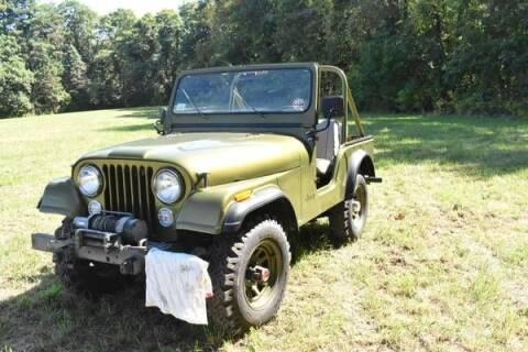 1977 Jeep CJ-5 for sale at Classic Car Deals in Cadillac MI