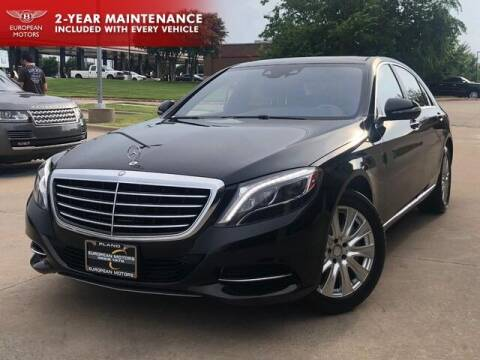 2014 Mercedes-Benz S-Class for sale at European Motors Inc in Plano TX