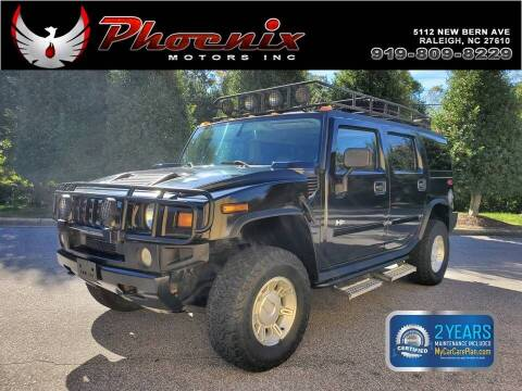 2004 HUMMER H2 for sale at Phoenix Motors Inc in Raleigh NC