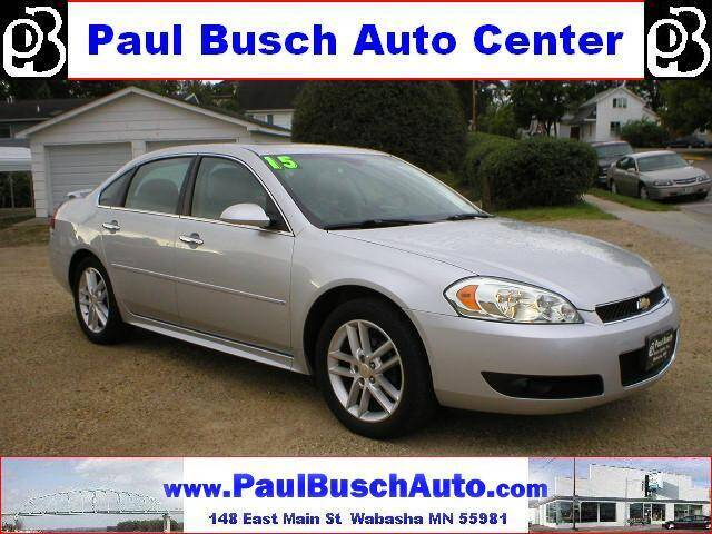 2015 Chevrolet Impala Limited for sale at Paul Busch Auto Center Inc in Wabasha MN
