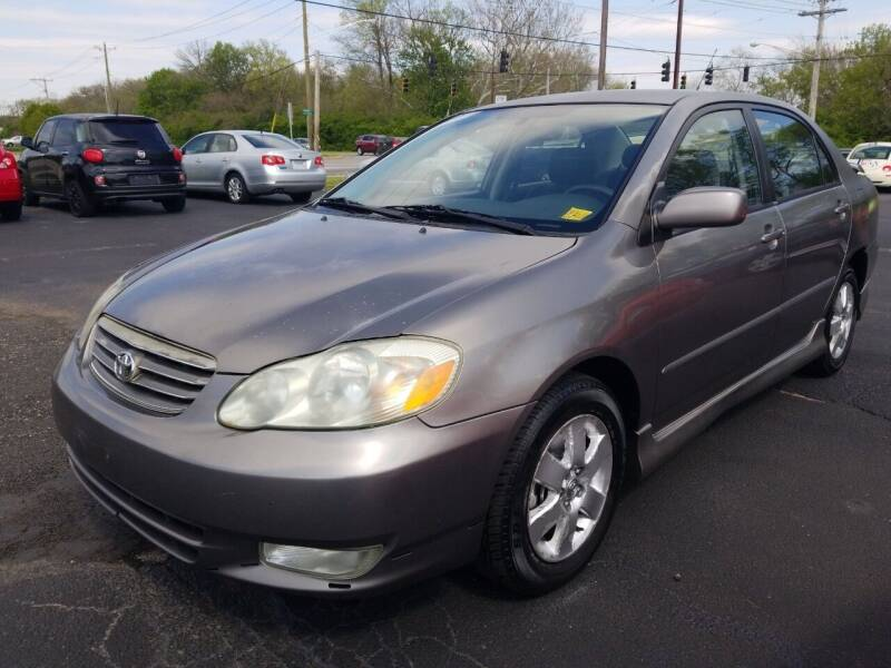 2004 Toyota Corolla for sale at Germantown Auto Sales in Carlisle OH