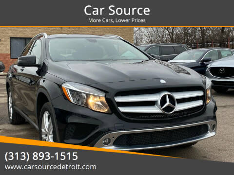 2015 Mercedes-Benz GLA for sale at Car Source in Detroit MI