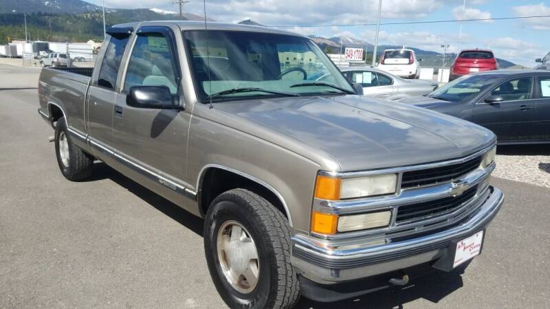 1999 Chevrolet C/K 1500 Series for sale at AUTO BROKER CENTER in Lolo MT