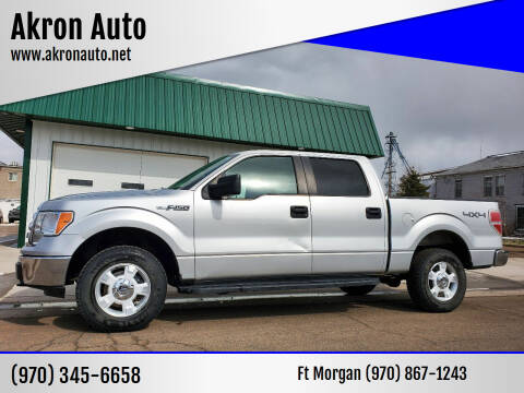 2009 Ford F-150 for sale at Akron Auto - Fort Morgan in Fort Morgan CO