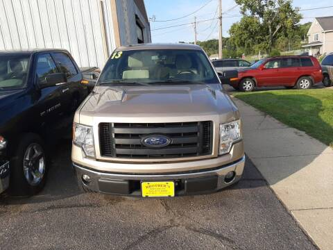 2013 Ford F-150 for sale at Brothers Used Cars Inc in Sioux City IA