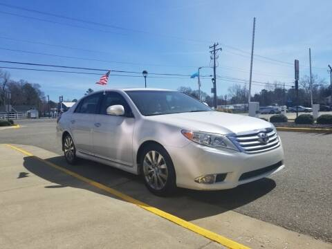 2012 Toyota Avalon for sale at RVA Automotive Group in North Chesterfield VA