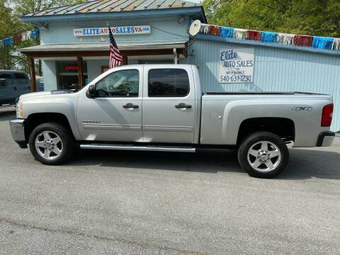 2011 Chevrolet Silverado 2500HD for sale at Elite Auto Sales Inc in Front Royal VA