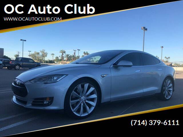 2012 Tesla Model S for sale at OC Auto Club in Midway City CA
