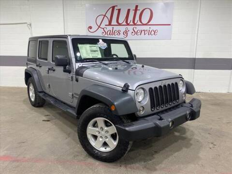 2014 Jeep Wrangler Unlimited for sale at Auto Sales & Service Wholesale in Indianapolis IN