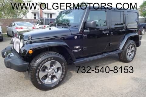 2018 Jeep Wrangler JK Unlimited for sale at Olger Motors, Inc. in Woodbridge NJ
