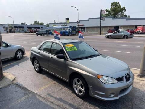 2007 Subaru Impreza for sale at JBA Auto Sales Inc in Stone Park IL