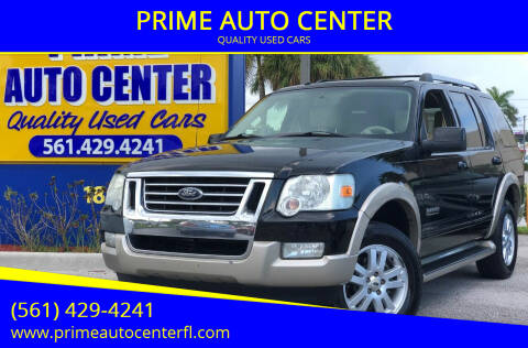 2007 Ford Explorer for sale at PRIME AUTO CENTER in Palm Springs FL
