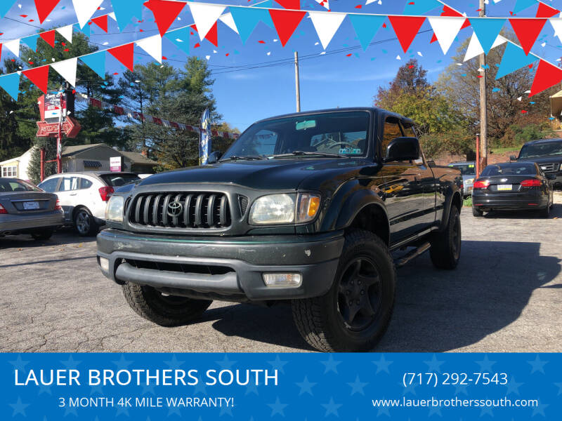 2003 Toyota Tacoma for sale at LAUER BROTHERS SOUTH in York PA