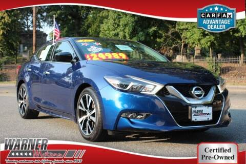 2017 Nissan Maxima for sale at Warner Motors in East Orange NJ