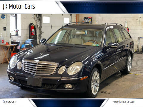 2009 Mercedes-Benz E-Class for sale at JK Motor Cars in Pittsburgh PA
