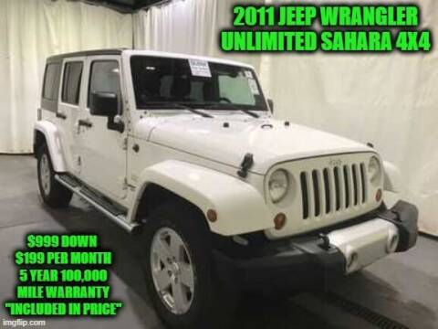 2011 Jeep Wrangler Unlimited for sale at D&D Auto Sales, LLC in Rowley MA
