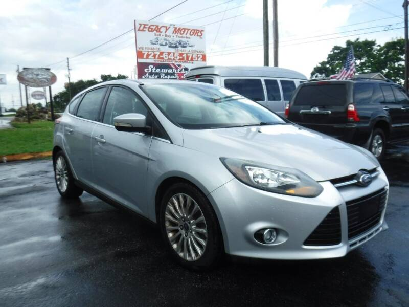 2012 Ford Focus for sale at LEGACY MOTORS INC in New Port Richey FL