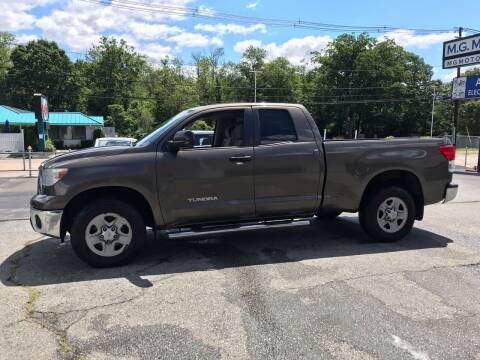2010 Toyota Tundra for sale at M G Motors in Johnston RI