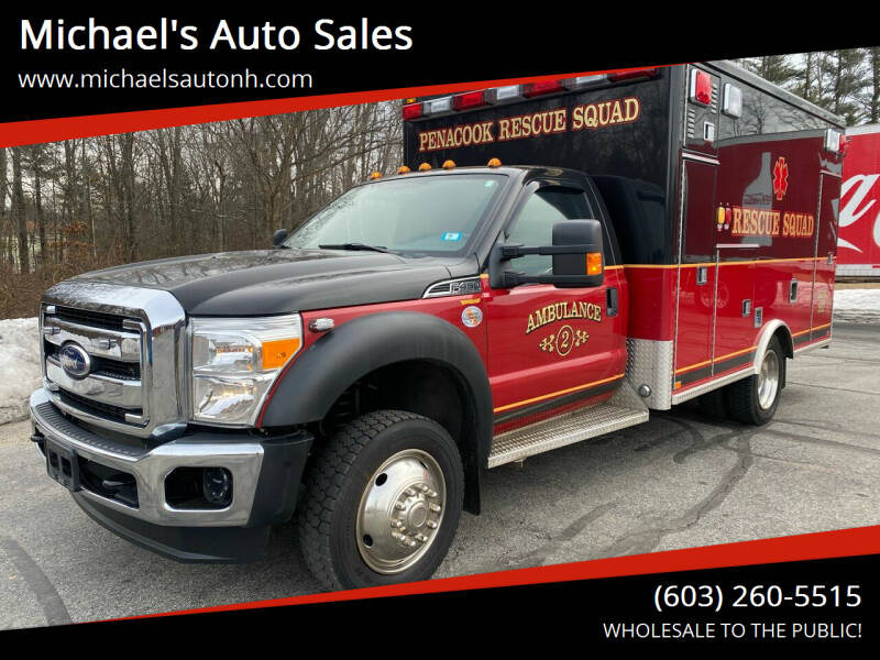 2012 Ford F-450 Super Duty for sale at Michael's Auto Sales in Derry NH